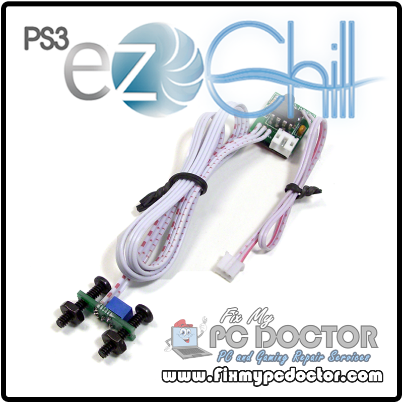 PS3 EZ Chill Fan Mod Kit - Prevent YLOD Overheating :: Playstation 3