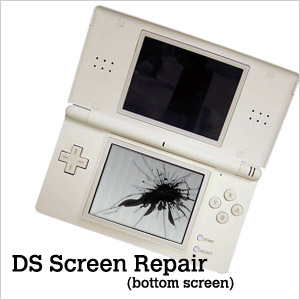Nintendo DS Lite Bottom LCD Screen Repair Service