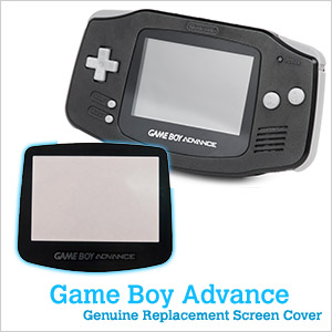 Replacement GBA Screen Cover w/ Transporter Case (GameBoy Advance)