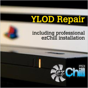 Professional YLOD Repair Service & PS3 EZ Chill Installation (Playstation 3)