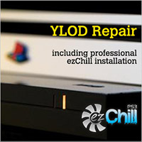 Playstation 3 YLOD Repair Service incl. PS3 EZ Chill Installation